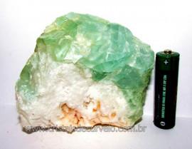 Fluorita Verde Pedra Natural Bruto Para Esoterismo Cod FV8045