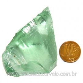 Obsidiana Verde Pedra Vulcanica Ideal P/ Coleçao Cod 119716