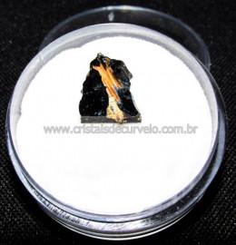Rutilo Estrela na Matriz de Hematita No Estojo Cod 115110
