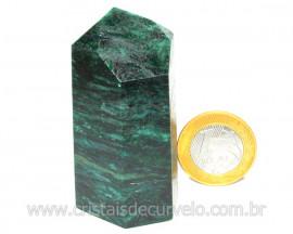 Ponta Fuxita Verde Pedra Natural Mineral Garimpo Cod PF1290