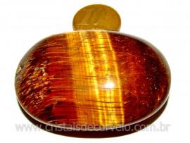 Massageador Sabonete OLHO DE TIGRE Pedra Natural Cod SO9366
