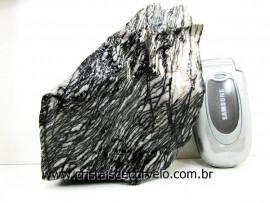 Jaspe Net Pedra de Garimpo Com Listas Natural Cor Cod 715.3