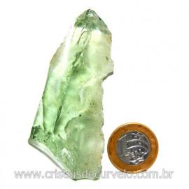 Obsidiana Verde Pedra Vulcanica Ideal P/ Coleçao Cod 119722