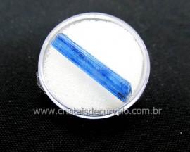 Cianita Azul Canudo Extra Natural No Estojo Para Colecionador Cod 29.5