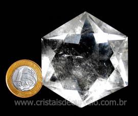 Estrela De Davi Ou Selo de Salomão Pedra Cristal cod ED3653