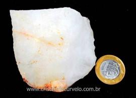 Quartzo Leitoso ou Branco Pedra Bruto Natural Cod QL1958