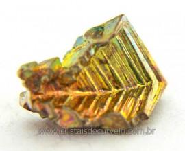 Bismuto Mineral ou Bismuth Stone Pedra Natural Cod BB5467