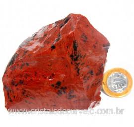 Obsidiana Mogno ou Mahogany Pedra Bruta Vulcanica Cod 127631