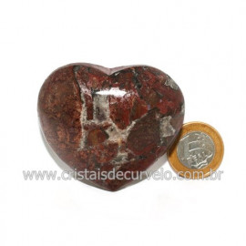 Coração Pedra Quartzo Jiboia Natural Lapidação manual Cod 118988