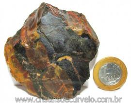 Onix Preto Pedra Bruto Natural Família Calcedonia Cod 115581