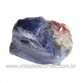 Safira D'Água Pedra Genuina P/ Coleçao no Estojo Cod 114724