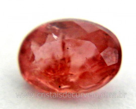 Gema Turmalina Rosa Pedra Natural 0.5ct 5mm Reff TR2100