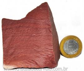 Dolomita Vermelha Pedra Natural Bruto de Garimpo Cod 110885