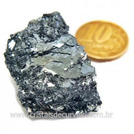 Galena Pedra Bruto Mineral Fonte Chumbo e Prata Cod 124238