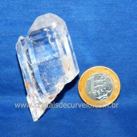 Lemuria Pequeno Quartzo Comum Cristal Lemuriano Natural Cod 119472