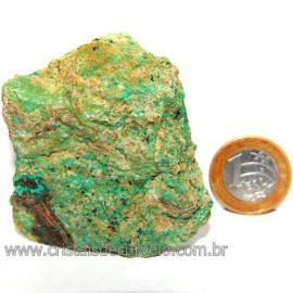 Crisocola Bruto Natural Pedra Nativa do Cobre Cod 113613