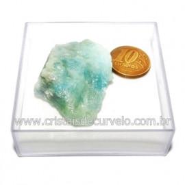 Aguas Marinhas No Estojo Berilo Natural Pedra Extra Cod 124019