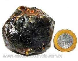 Agata Negra Pedra Bruta Natural Para Colecionador Cod 110926