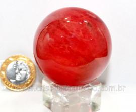 Esfera Cherry Pedra Familia Obsidiana Para Colecionador ou Esoterismo Cod 139.4