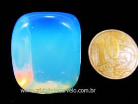 Pedra da Lua ou Opalina Rolado Unid Para Mandala Pingente Colar e Outros Cod 18.4