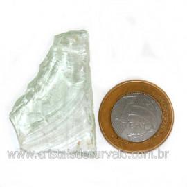 Obsidiana Verde Pedra Vulcanica Ideal P/ Coleçao Cod 128437