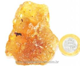 Ambar Natural Brasileiro ou Copal Resina Fossilizado Rocha Organica Cod AC3687