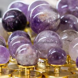 1 Kg Esfera Bola Ametista Pedra Natural Revenda ATACADO 112690