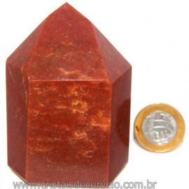 Peso de Papel Para Escritorio Quartzo Vermelho Cod 113274