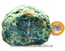 Apatita Azul Em Bruto Pedra Media  Para Esoterico ou Colecionador Cod 303.5
