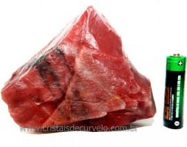 Aragonita Roxa Pedra Bruto Mineral Natural Cod AR9220