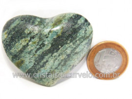 Coraçao Quartzo Brasil Ideal P Presente e Enfeite Cod 119734