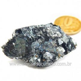 Galena Pedra Bruto Mineral Fonte Chumbo e Prata Cod 124242