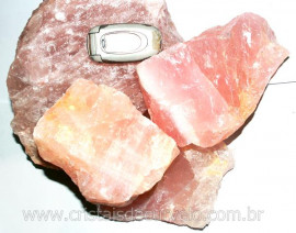 QUARTZO ROSA Pedra Bruto Para Lapidar Pacote Atacado 5 kg