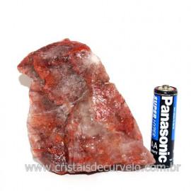Hematoide Vermelho Natural Quartzo Cristalizado Cod 118326