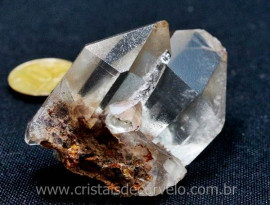 Drusa Cristal Extra Quartzo Pedra Pequena e Otima Qualidade Ideal Esoterismo Cod 51.6
