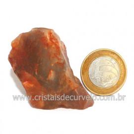 Aragonita Vermelho Pedra Bruto Mineral Natural Cod 123330