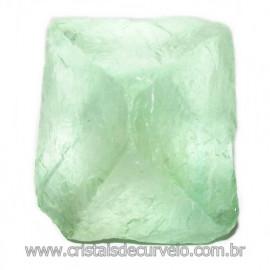 Fluorita Cubica da Mongólia Pedra Natural Pra Coleção 115897