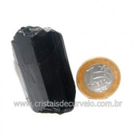 Turmalina Preta Pedra Extra Firme e Dura Natural Cod 119427