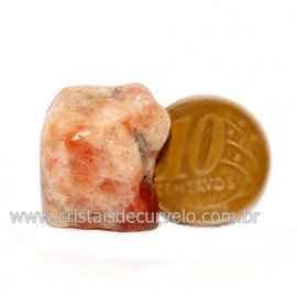 Pedra Do Sol / Goldstone Bruta Natural de Garimpo Cod 125901