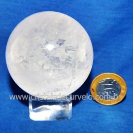 Bola Cristal Comum Qualidade Pedra Uso Esoterico Cod 119778
