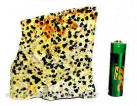 Jaspe Dalmata Pedra Natural Mineral de Esoterismo Cod JD7131