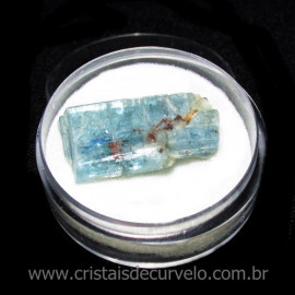Cianita Azul Canudo No Estojo Natural de Garimpo Cod 115795