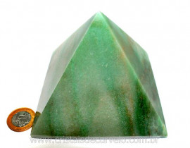 Piramide GRANDE Pedra Quartzo Verde Natural Queops cod PG8741