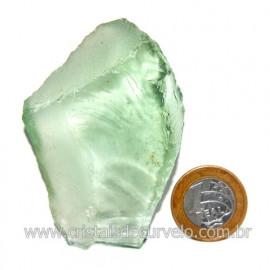 Obsidiana Verde Pedra Vulcanica Ideal P/ Coleçao Cod 119721