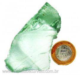 Obsidiana Verde Pedra Vulcânica Para Colecionador Cod 110332