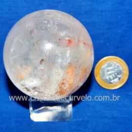 Bola Cristal Comum Qualidade Pedra Uso Esoterico Cod 117837