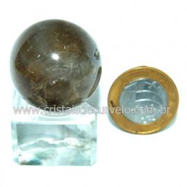 Bola Pedra Citrino Natural Mineral Garimpo Esfera Cod 118843