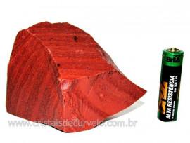 Dolomita Vermelha Pedra Natural Bruto de Garimpo Cod DB2091