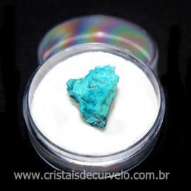 Crisocola Bruto Lasca No Estojo Mineral Natural Cod 118511