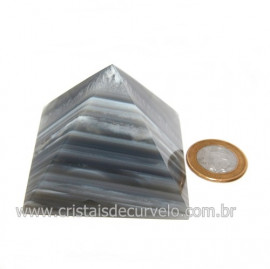 Piramide Agata Cornalina Baseada Egipcio Queops Cod 118892
